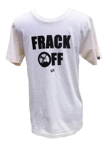 Equillibrium Frack OFF Organic Cotton T-shirt (Unisex)