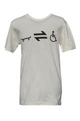 Equillibrium Cripple Equation Organic Cotton T-shirt  (Unisex) - Equillibrium - 2