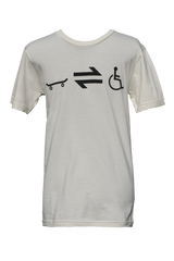 Equillibrium Cripple Equation Organic Cotton T-shirt  (Unisex) - Equillibrium - 1