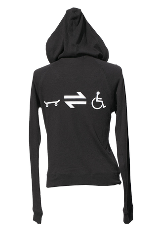 Equillibrium Cripple Equation Bamboo Zip-up Hoody (Women)
