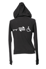 Equillibrium Cripple Equation Bamboo Zip-up Hoody (Women) - Equillibrium - 1