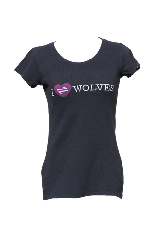 Equillibrium Heart Wolves Hemp T-Shirt (Women)