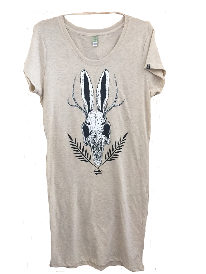 Equillibrium Dress: Jackalope Skull