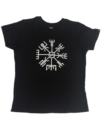 Equillibrium Norse Compass Organic Cotton and Bamboo T-shirt (Women)