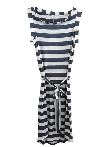 Equillibrium Dress: Striped Dress