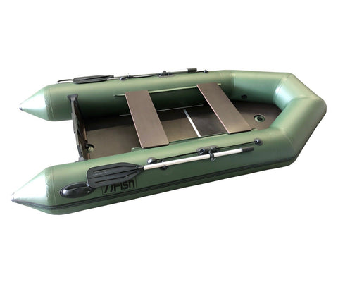 FISH 300 3.0m Inflatable Boat with Floorboards & Air Keel