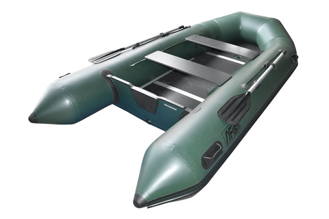 FISH 360 3.6m Inflatable Boat with Floorboards & Air Keel