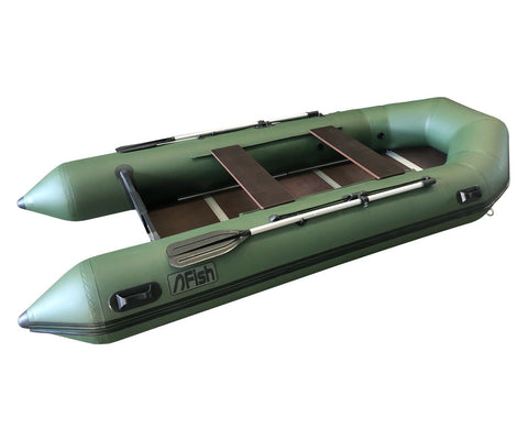 FISH 380 3.8m Inflatable Boat with Floorboards & Air Keel
