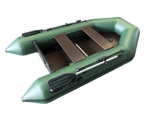 FISH 270 2.7m Inflatable Boat with Floorboards & Air Keel