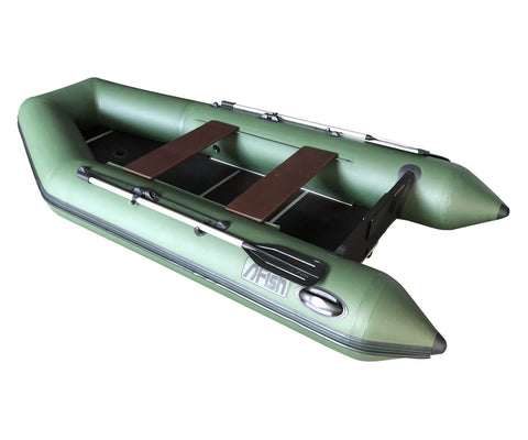 FISH 330 3.3m Inflatable Boat with Floorboards & Air Keel