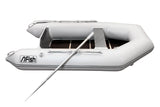 FISH 240 2.4m Inflatable Boat with Floorboards & Air Keel