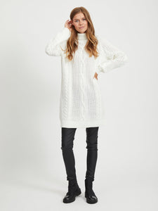 OBJAVA L/S ROLLNECK KNIT DRESS NOOS Neulemekko
