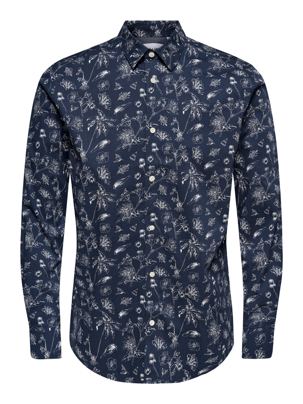 ONSHOGAN LS PRINTED STRETCH SHIRT CONF Kauluspaita