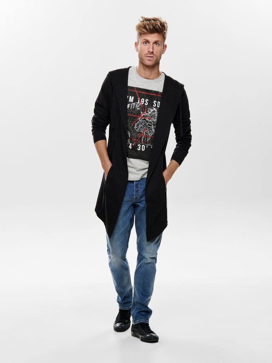 ONSTRUMAN CARDIGAN SWEAT Collegetakki
