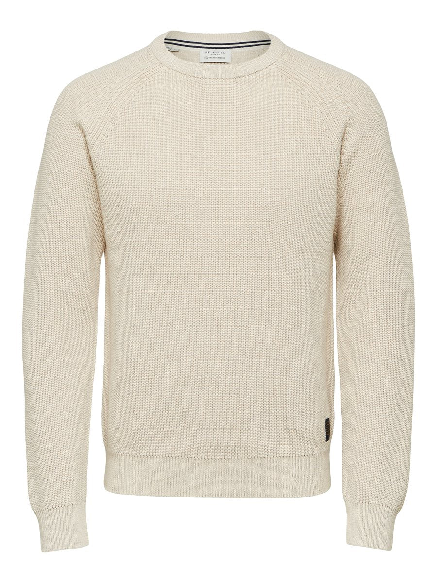 SLHIRVING CREW NECK W CAMP Neule