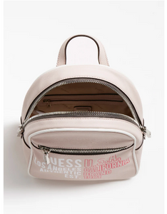 GUESS KALIPSO LOGO PRINT BACKPACK Reppu