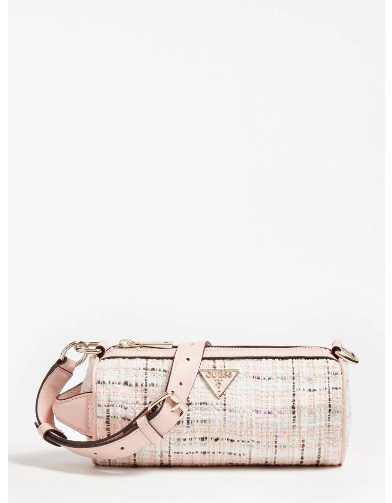 GUESS MANHATTAN TWEED CROSSBODY Olkalaukku
