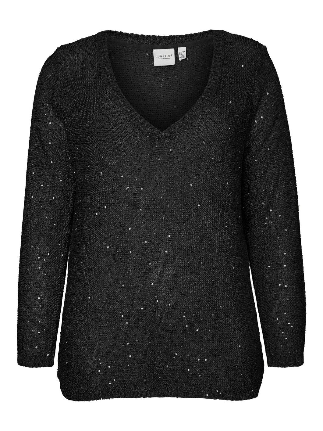 JRPILOU LS KNIT PULL OVER Neule