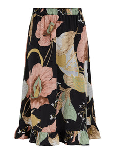 YASBLOOMI MIDI SKIRT FT