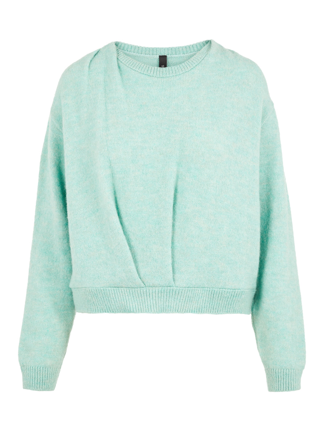 YASELISA LS KNIT PULLOVER FT Neule