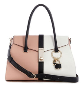 GUESS ASHER FLP SATCHEL Laukku