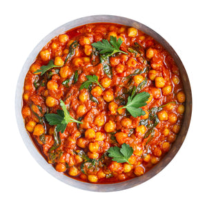 Load image into Gallery viewer, Spinach & Chickpea Casserole (V) (600g Serves 2)