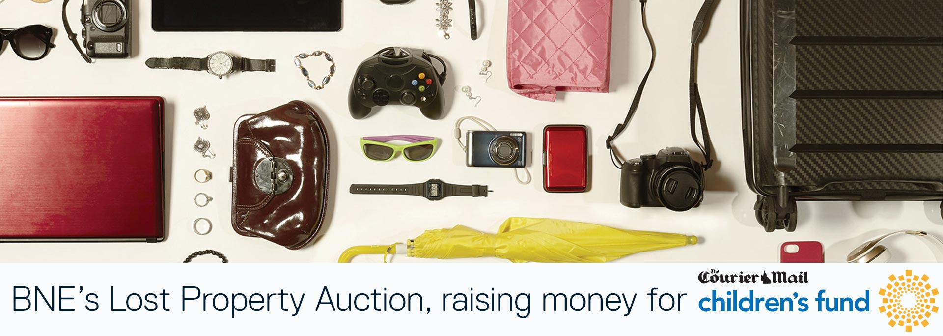 Brisbane Airport's Lost Property Auction 2021
