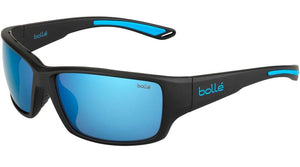 Bolle Kayman - Matte Black Blue with Polarized Offshore Blue Lens