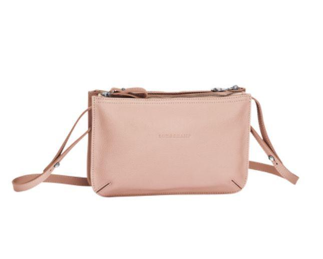 Longchamp Le Foulonne Crossbody Bag Powder Pink