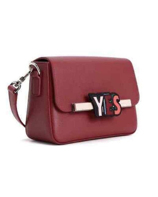 Longchamp Game On Cross Body Bag Carmine