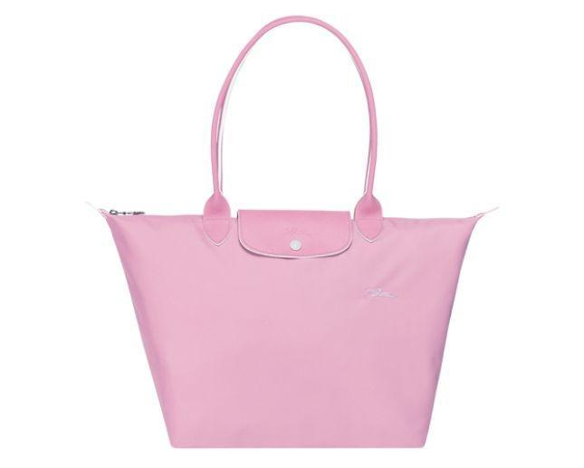 Longchamp  Le Pliage Club Shoulder Bag L Pink