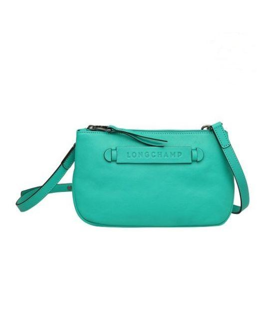 Longchamp Longchamp 3D Cross Body Bag Emerald Green
