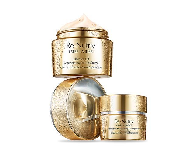 Estee Lauder  Re Nutriv  Ultimate Lift Regenerating Youth Face Creme 50ml & Eye Creme 15ml