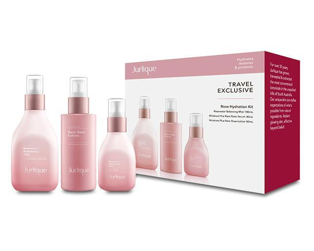 Jurlique Rose Hydration Kit Balancing Mist + Lotion + Serum