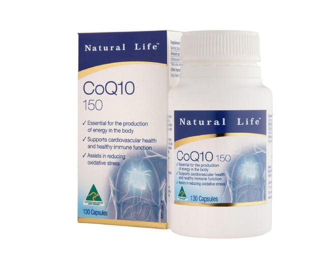Natural Life Co Q10 150mg 130Cap