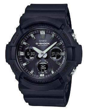 G-Shock Analog Digital Solar Powered Black Resin Band