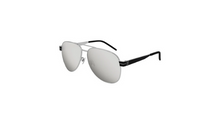 Load image into Gallery viewer, YSL Saint Laurent M53-003 60 Unisex Silver-Black