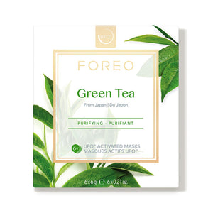 Foreo Ufo Farm To Face Masks Green Tea