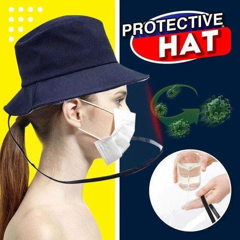 HatGuard™ - PROTECTIVE SHIELD VISOR FOR SPLASH PROTECTION BUCKET HAT