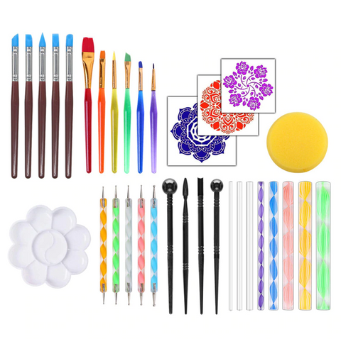 【Mother's Day Promotion】Mandala Dotting Tools For Painting Rocks-50% OFF TODAY