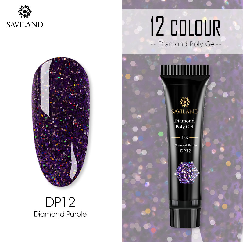 【Mother's Day Promotion】Saviland™ Diamond Polygel Quick Extension For Nails--50% OFF TODAY