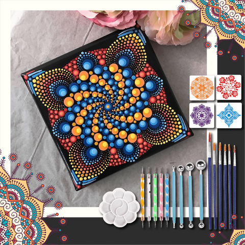 【Summer Promotion】Complete DIY Mandala Dotting Tools For Painting Rocks-50% OFF TODAY