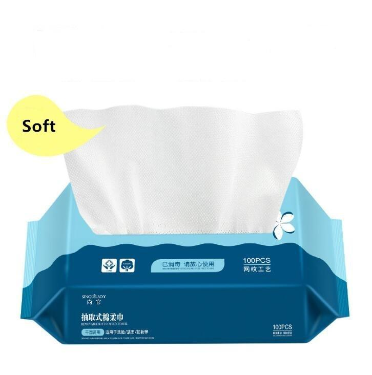 Travel Cotton Disposable Wash Towel Soft Clean Beauty Towel
