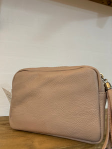 Blush Leather Bag
