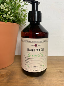 Green tea hand wash by Fikkerts (300ml)