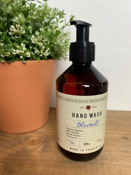 Bluebell hand wash by Fikkerts (300ml)