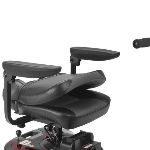 Drive Medical Phoenix HD 4 Wheel Mobility Scooter PHOENIXHD4 With Seat Folded