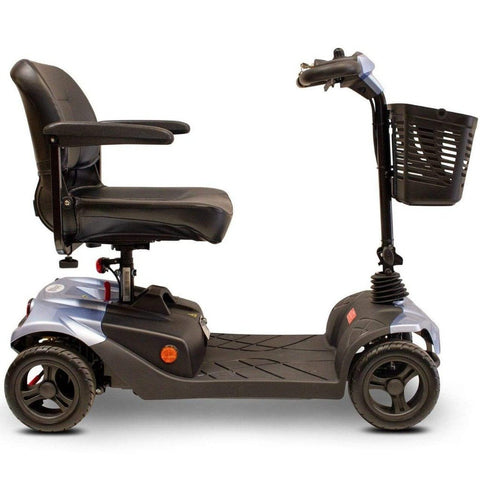 EWheels EW-M41 4-Wheel Travel Mobility Scooter Right Side View