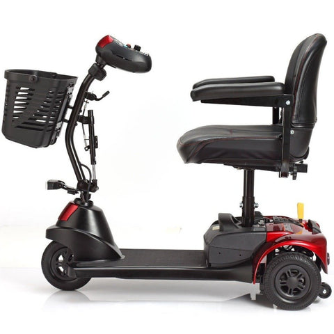 Merits Health Roadster 3 S731 3-Wheel Mobility Scooter Left Side View