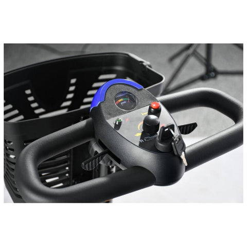 Merits Health Roadster Mini S740 4-Wheel Mobility Scooter Hand Controls